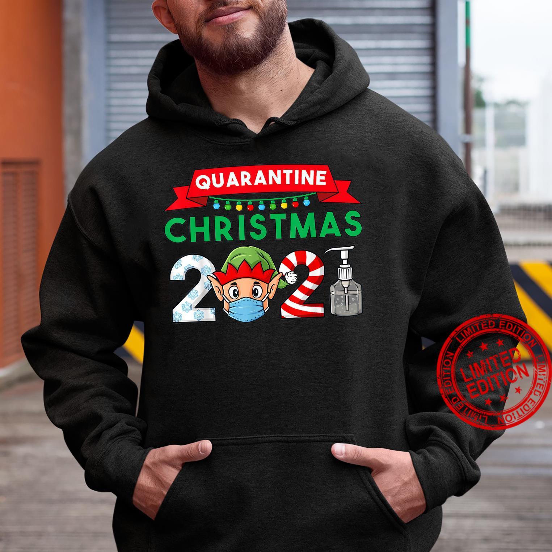 2021 Christmas Elf Boys Family Xmas Shirt hoodie