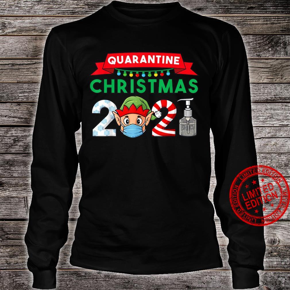 2021 Christmas Elf Boys Family Xmas Shirt long sleeved
