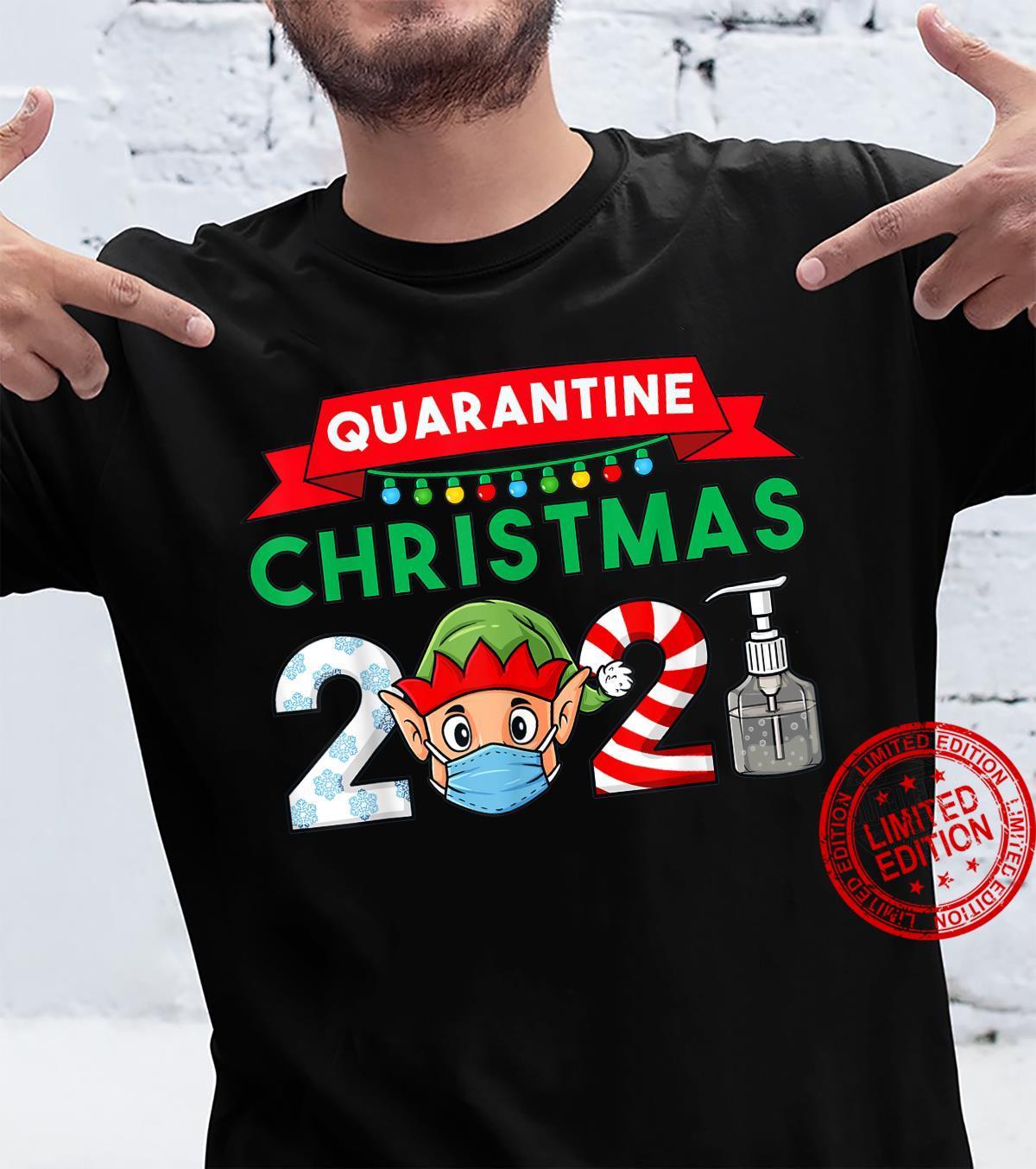 2021 Christmas Elf Boys Family Xmas Shirt