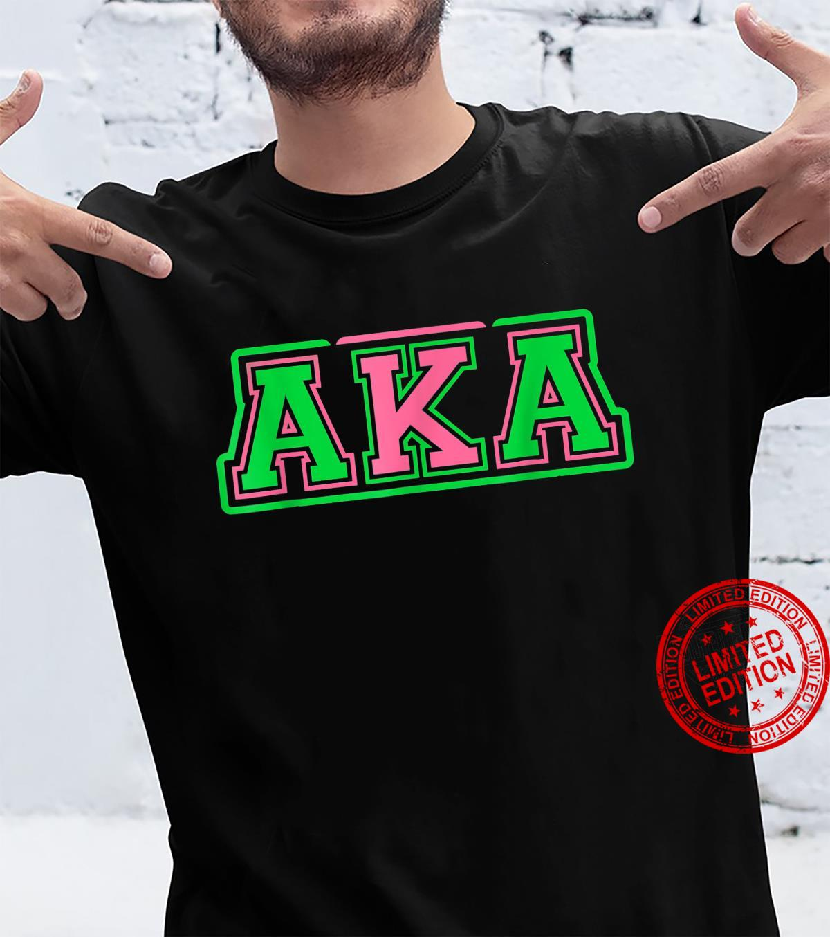 Alpha Kappa AKA Sorority Paraphernalia Shirt