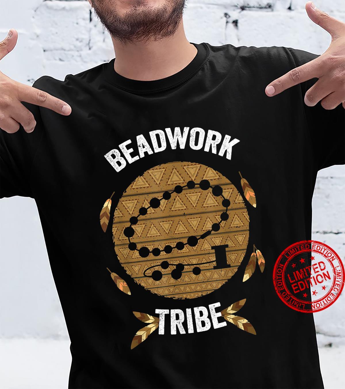 Beadwork Tribe Beading Native Tribal Shirt