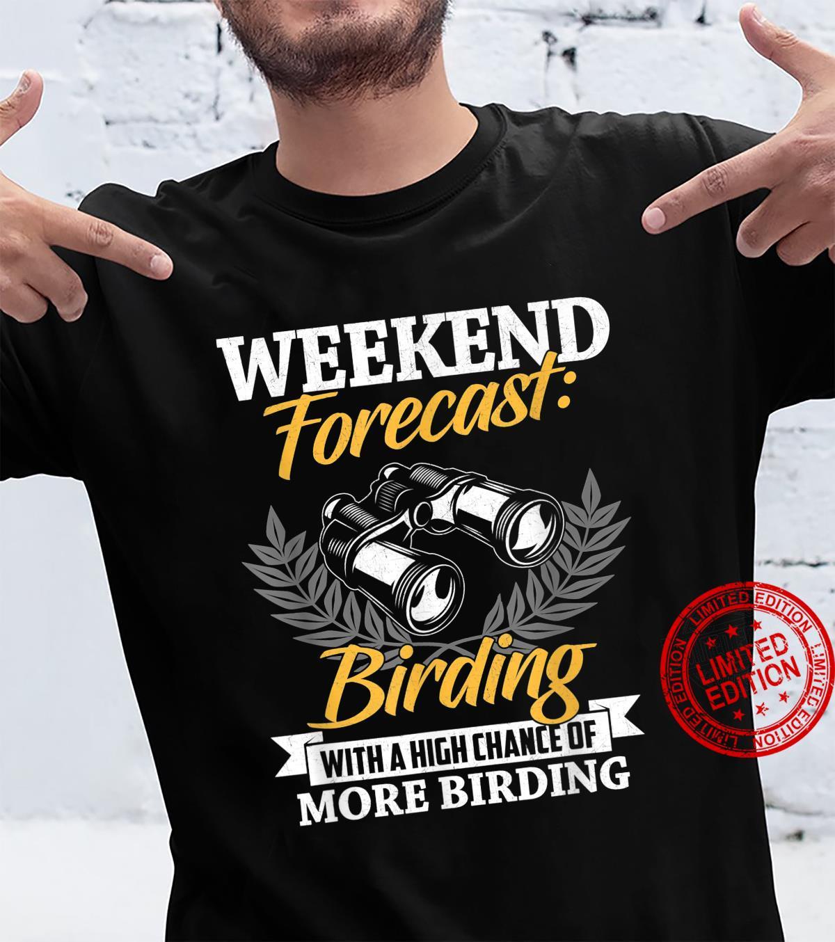 Bird Watcher Bird Watching Birding Bird Shirt