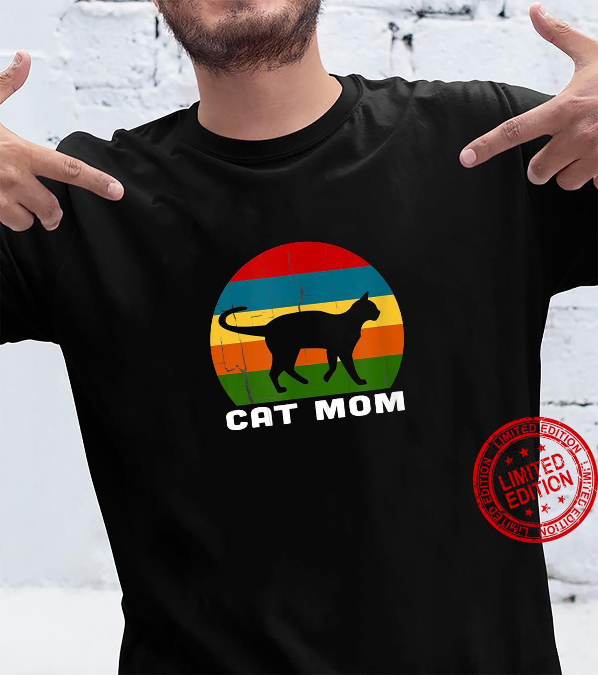 Cat Mom Cat Lady Shirt