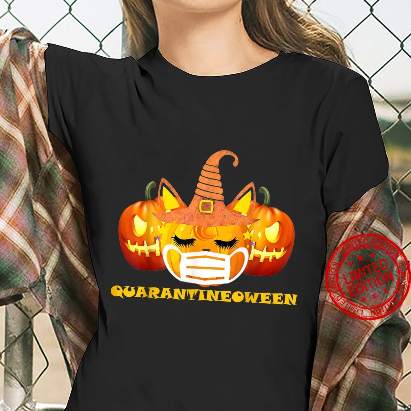 Cute Pumpkin Unicorn Halloween 2020 2021 Shirt ladies tee