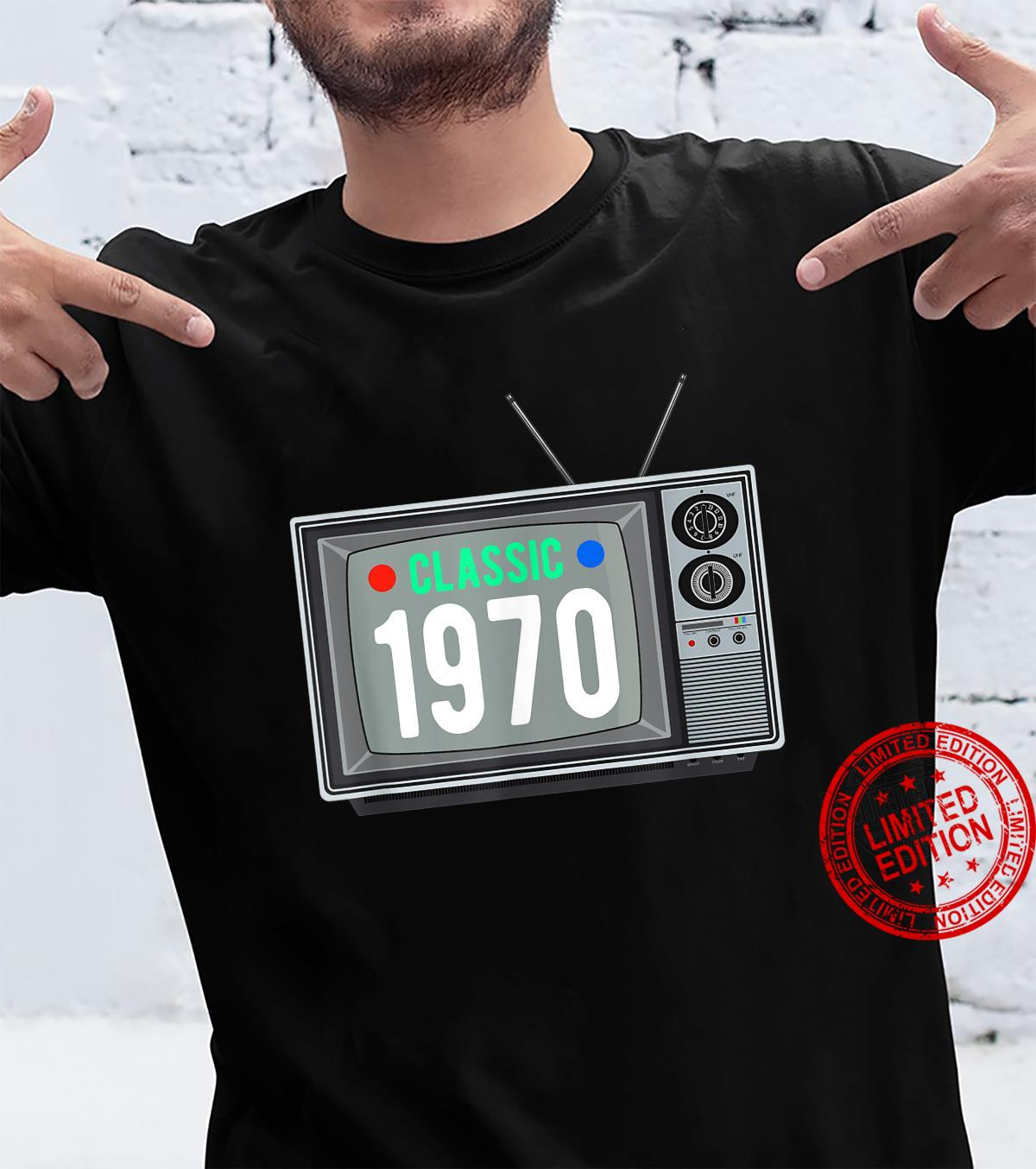 Funny Classic 1970 Shirt Vintage TV 51st Birthday Shirt Shirt
