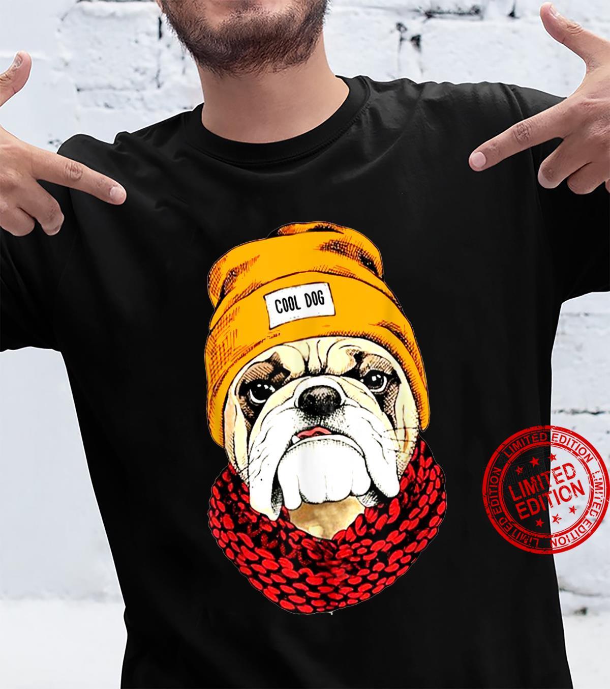 Funny Cool Bulldog Dog Idea Shirt