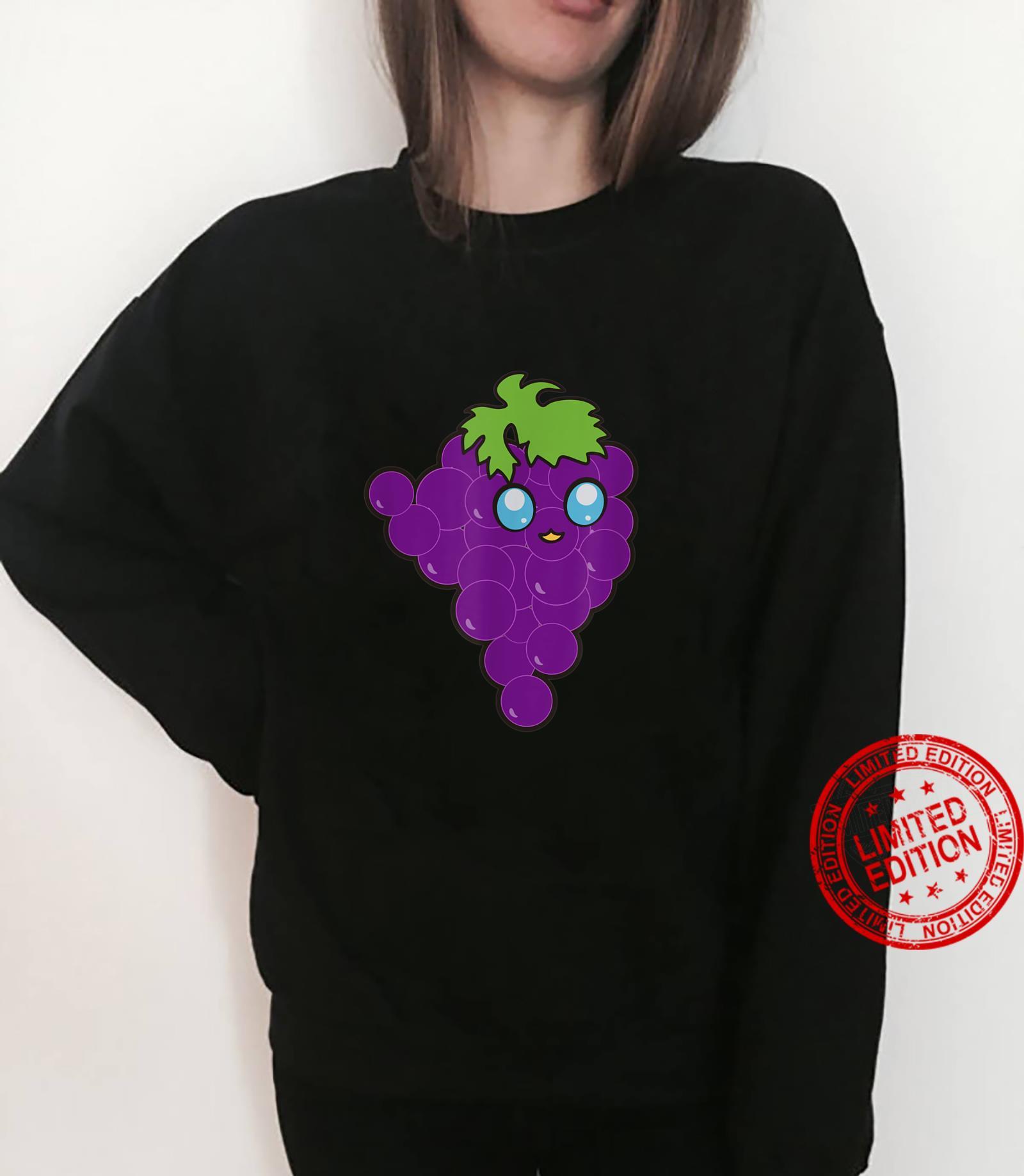 Funny Grapes Vegan Fruits Foodies Puns Gag Humor Shirt sweater
