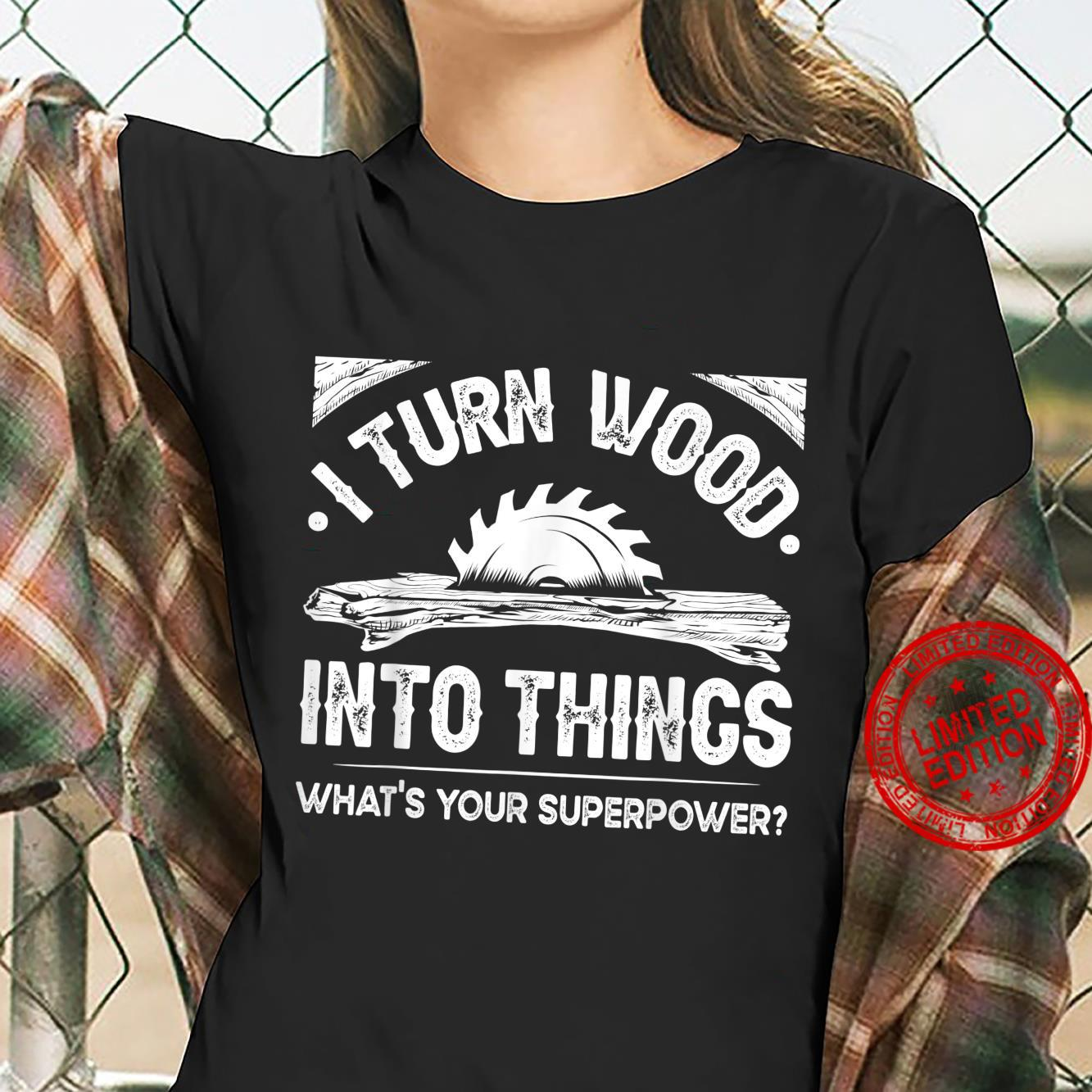 Funny Woodworking Cool Woodworker Carpenter Shirt ladies tee