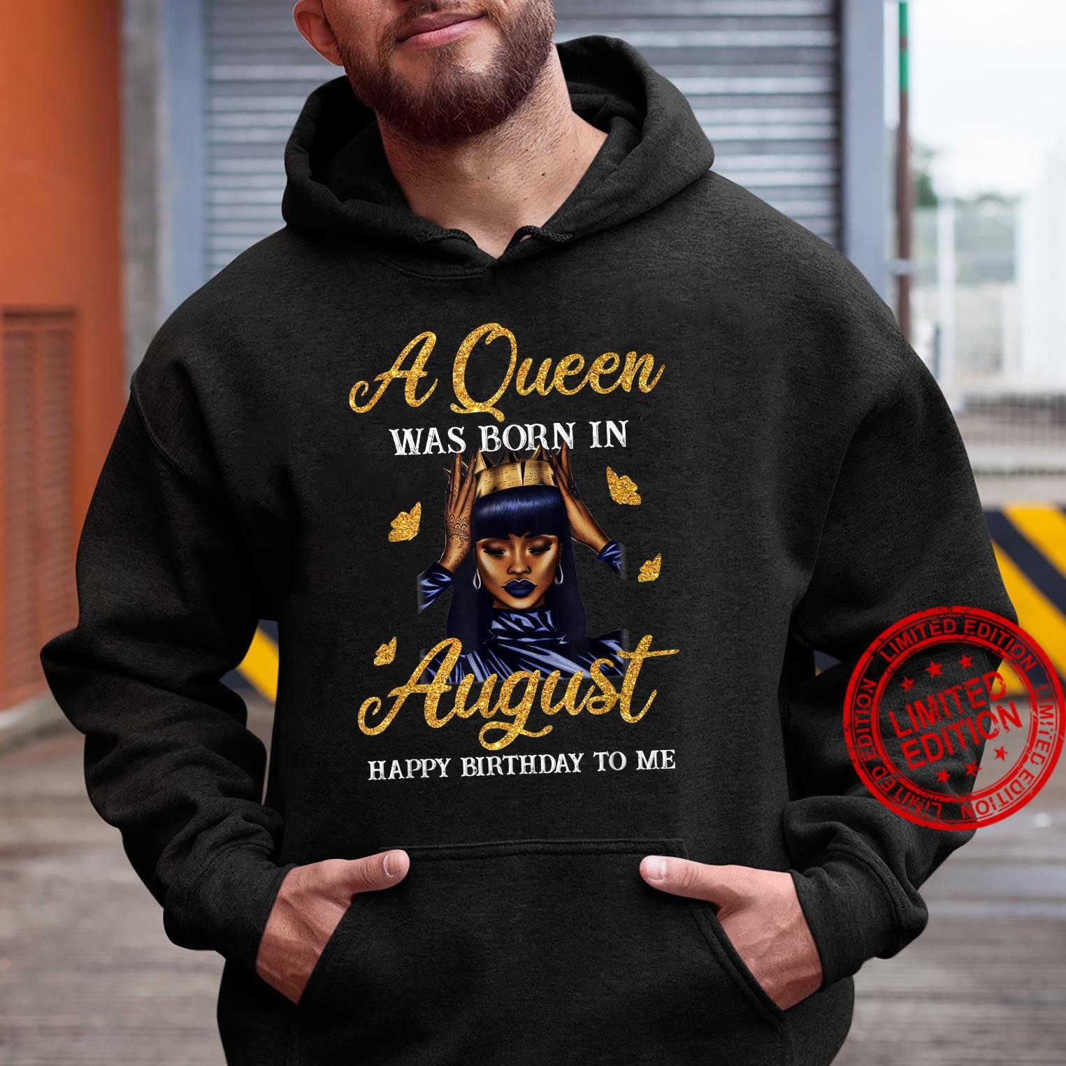 Gorgous Queens Are Born In August Birthday Party Shirt hoodie