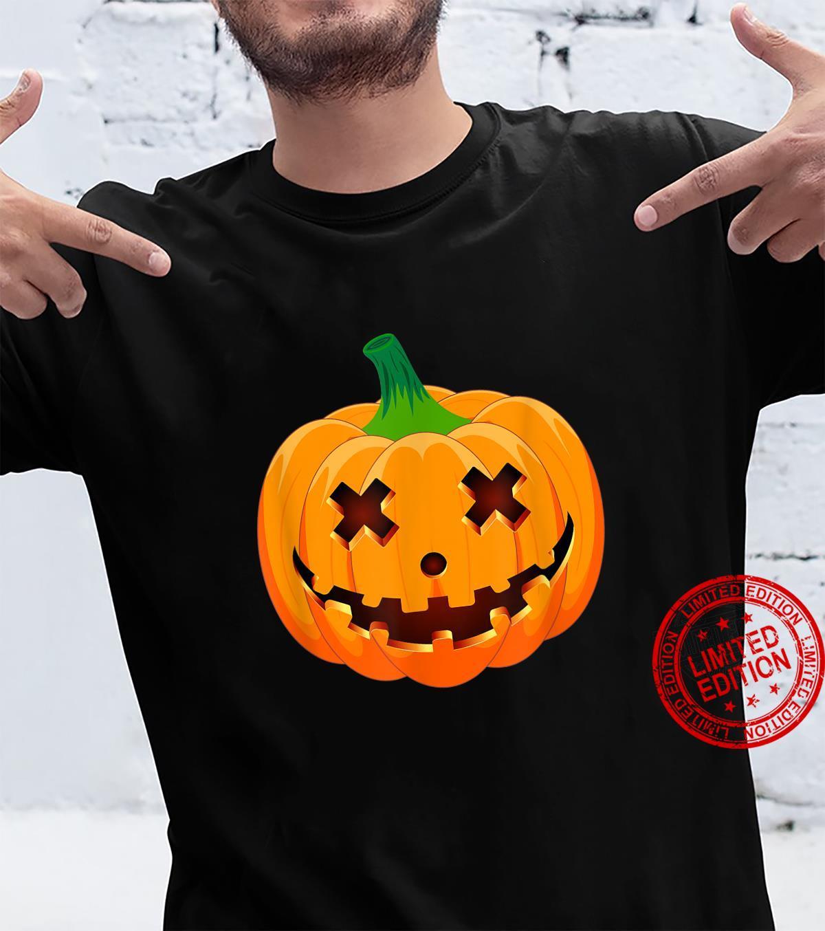 Halloween Frightful Jack Lantern Pumpkin Shirt Jackolantern Shirt