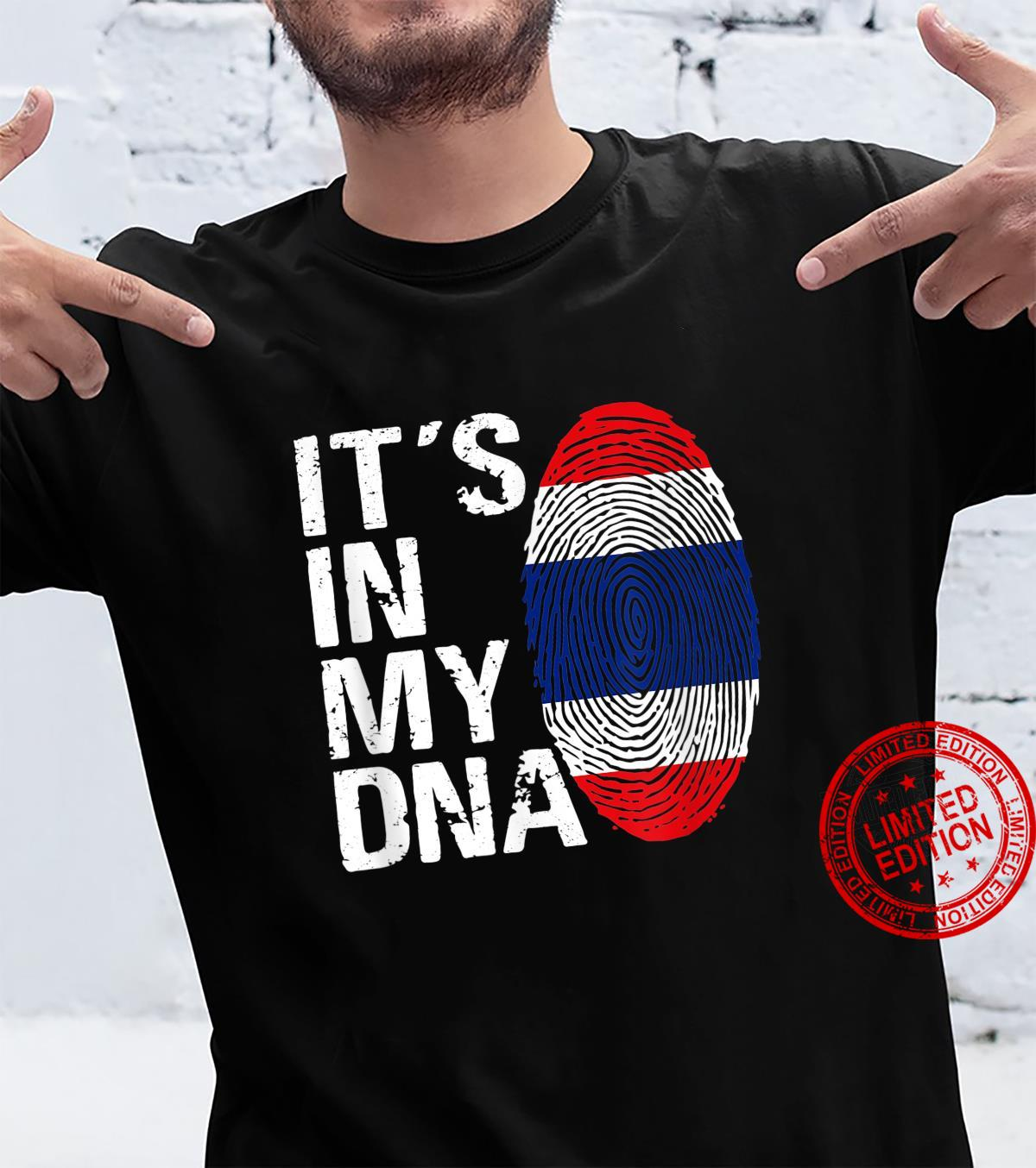 IT'S IN MY DNA THAILAND Flag Tomyumkung Shirt