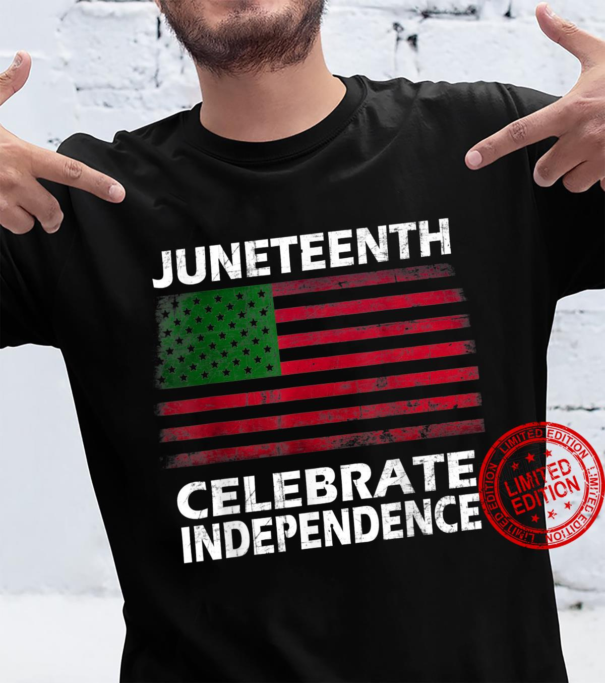 Juneteenth June 19th Young Black Freedom Freeish Since 1865 Shirt