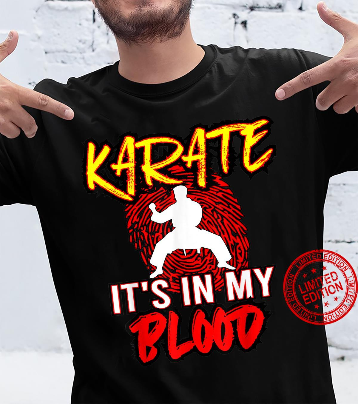 Karate Coach Mixed Martial Arts Sensei Instructor Student Shirt