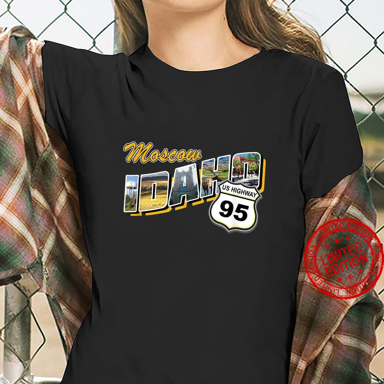 Moskauer Idaho Souvenir Shirt ladies tee