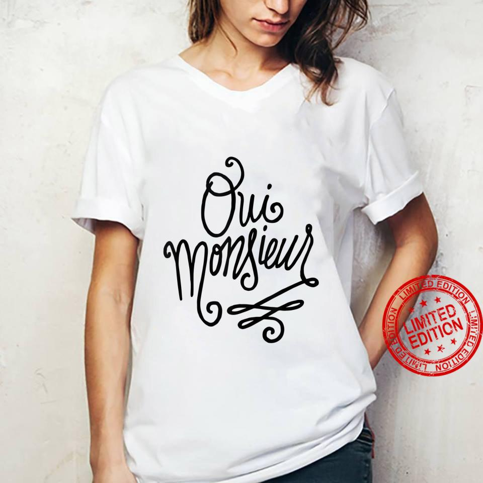 Oui Monsieur French Shirt ladies tee