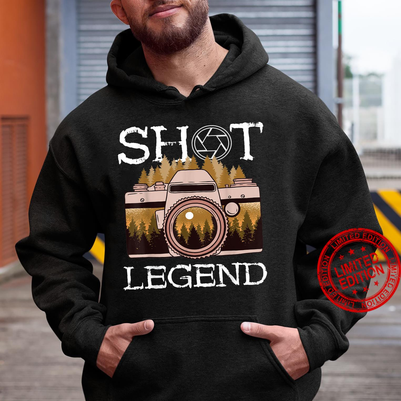 Photography Shot Legend Photographer Camera Lens Landscape Shirt hoodie
