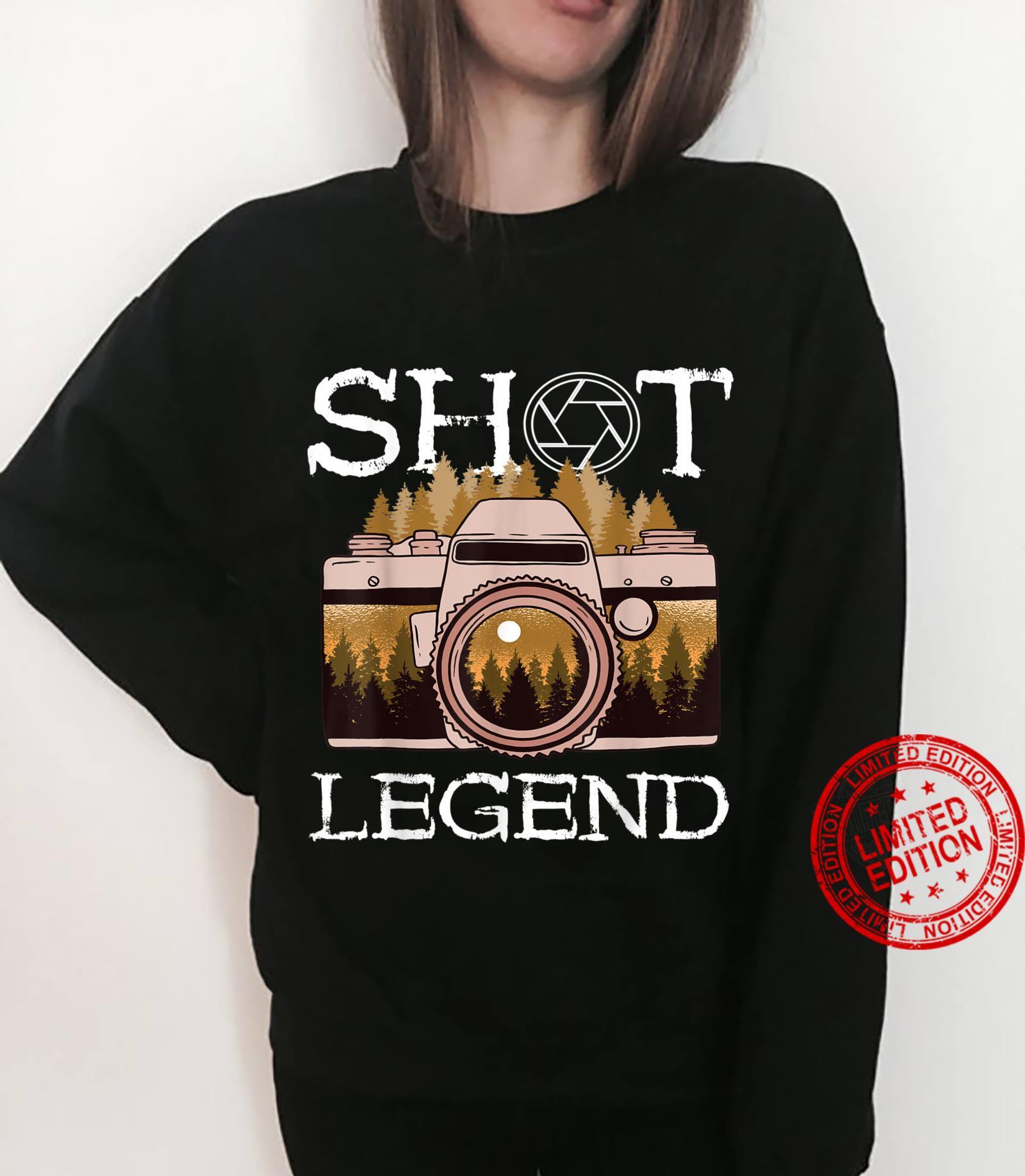 Photography Shot Legend Photographer Camera Lens Landscape Shirt sweater