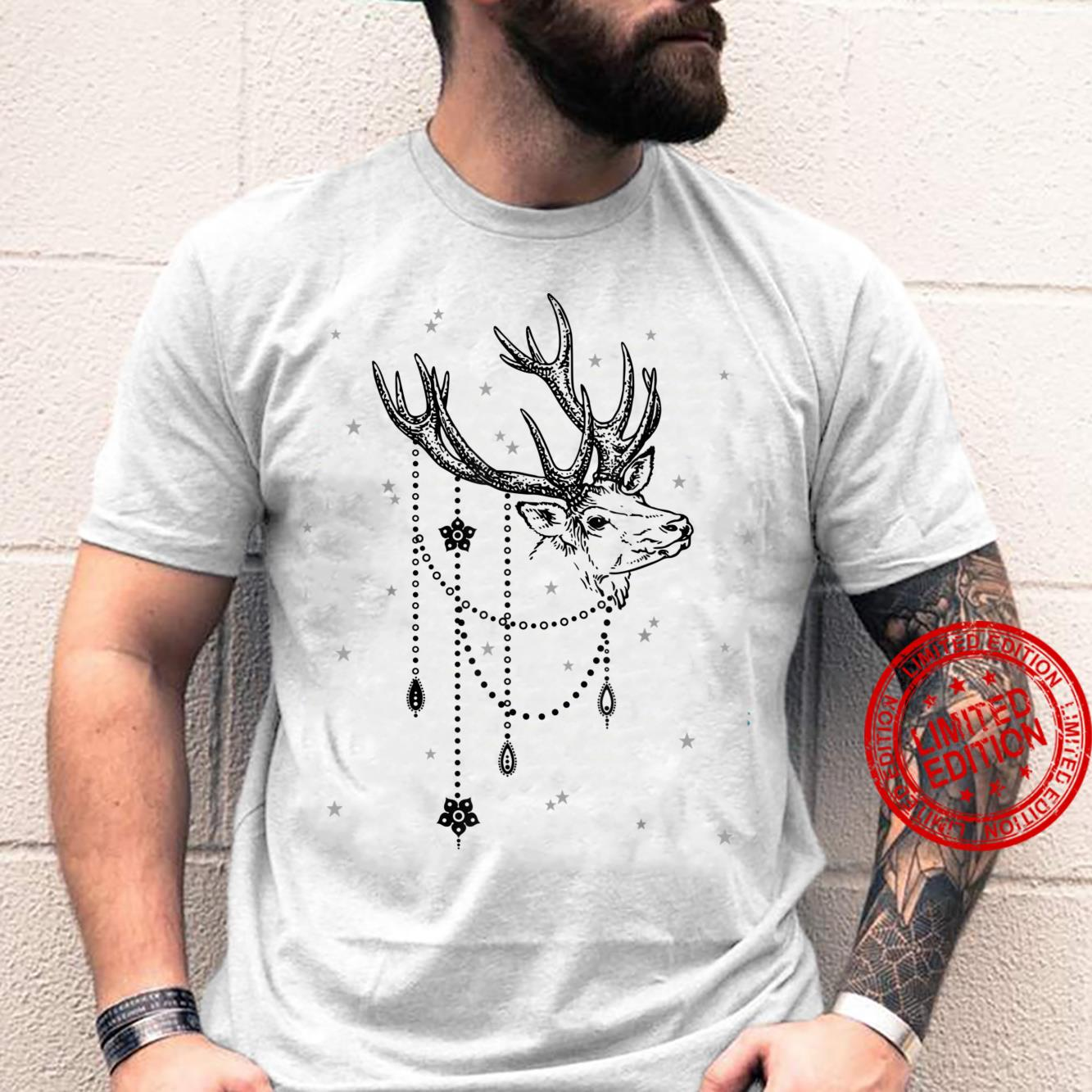 Pride Vintage DEER With Decorative Chains Ornaments 1 Fun Shirt