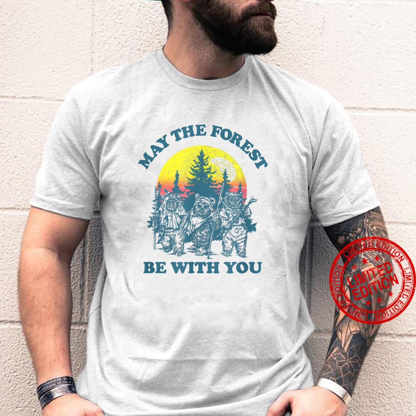 Star Wars Ewok Sunset May The Forest Be With You Shirt