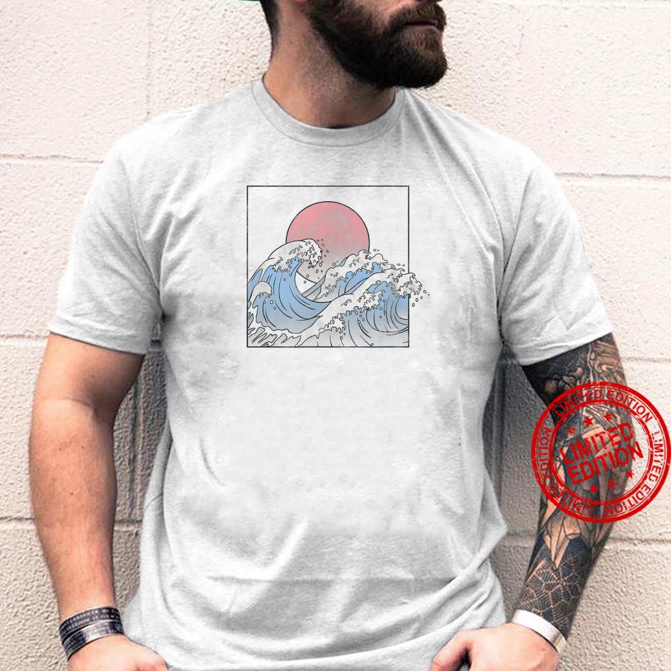 Trendy Blue Waves Classic Shirt