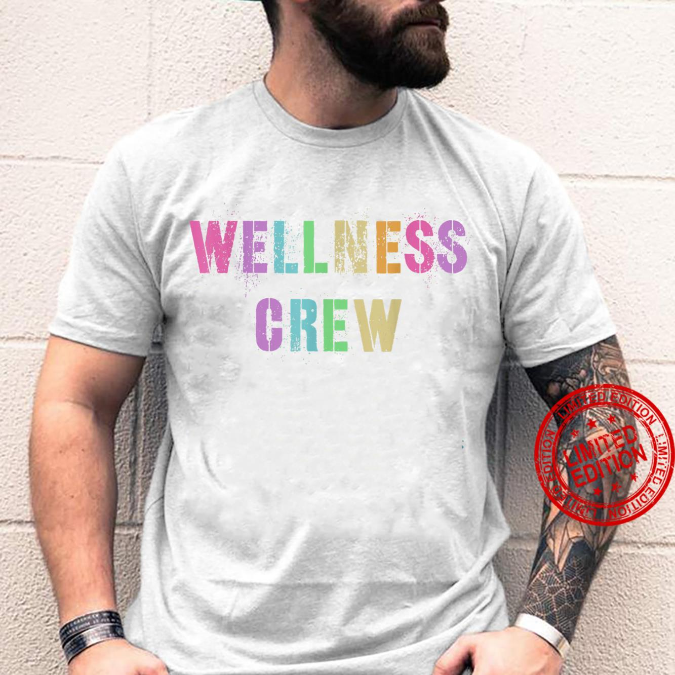 WELLNESS CREW Health Trainer Fitness Coach Rockstar Squad Shirt