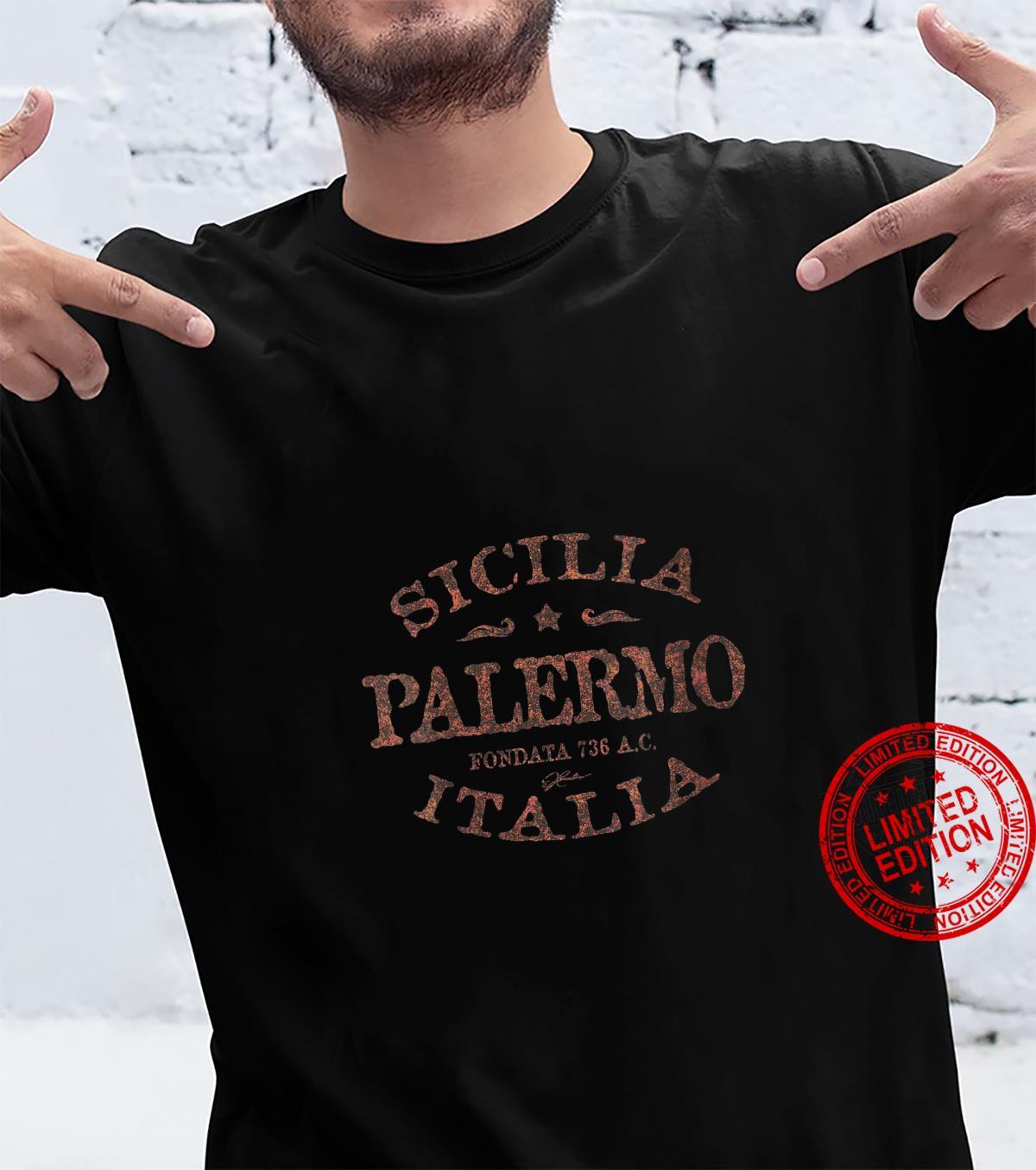 Womens JCombs Palermo, Sicily, Italy Shirt