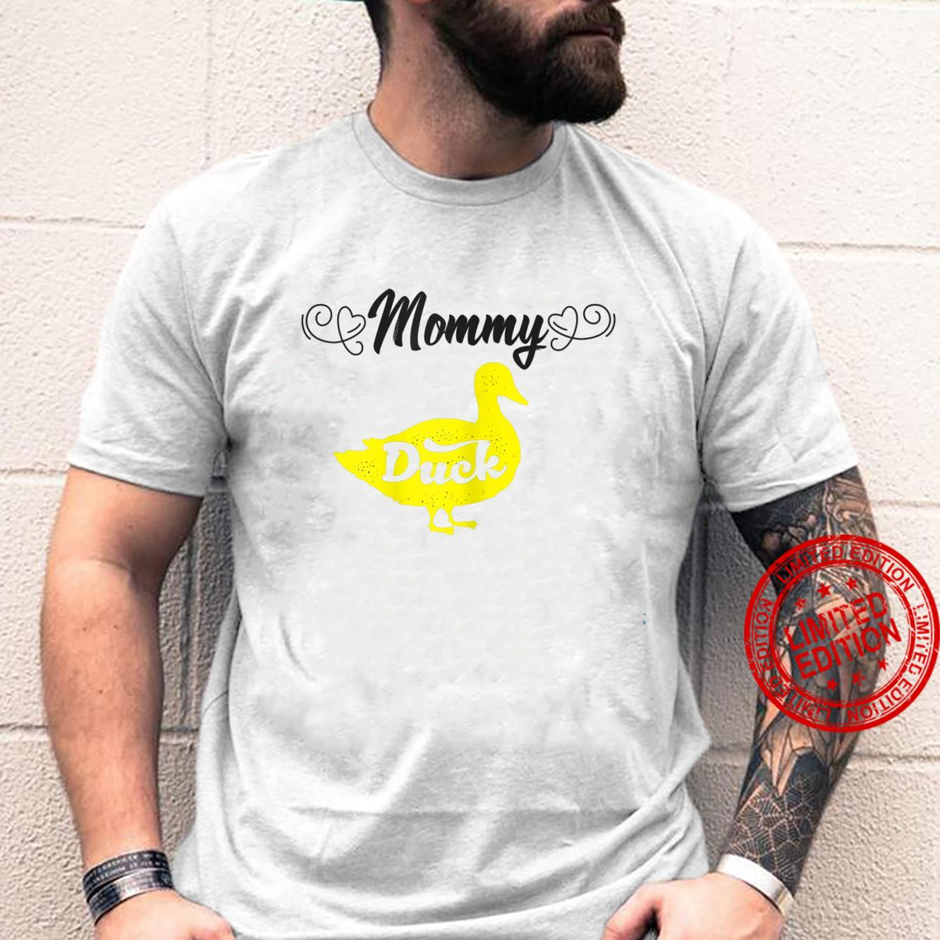 Womens Mommy Duck Mom Ideas For Cute Duckss Shirt