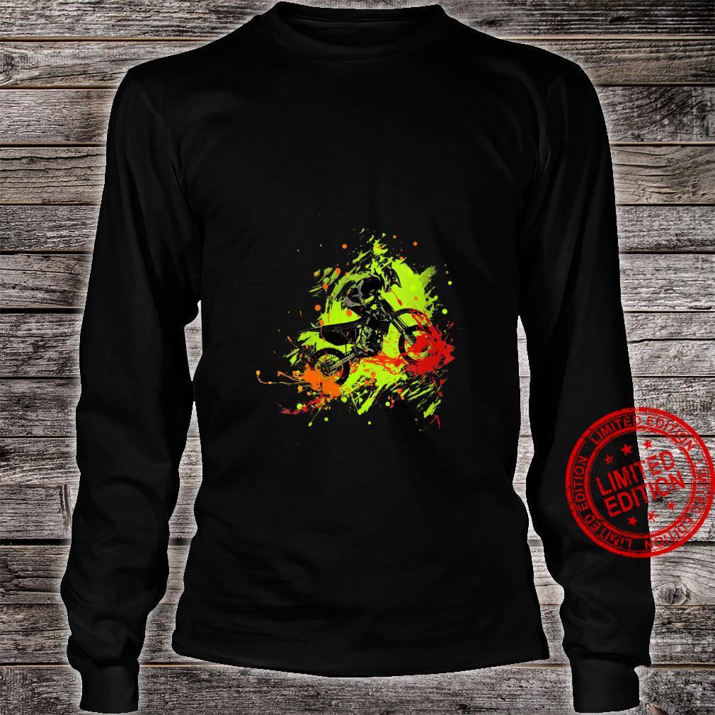 Womens Motocross Dirt Bike racing Shirt long sleeved