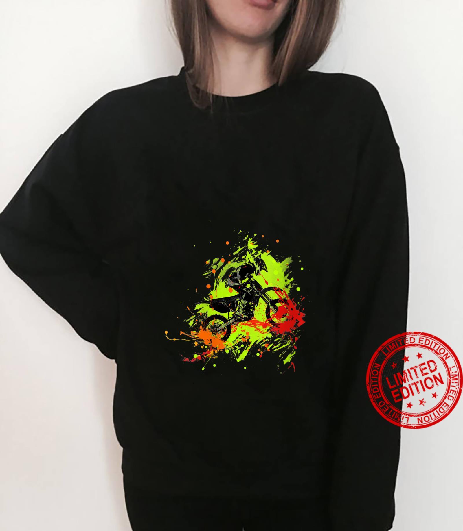 Womens Motocross Dirt Bike racing Shirt sweater