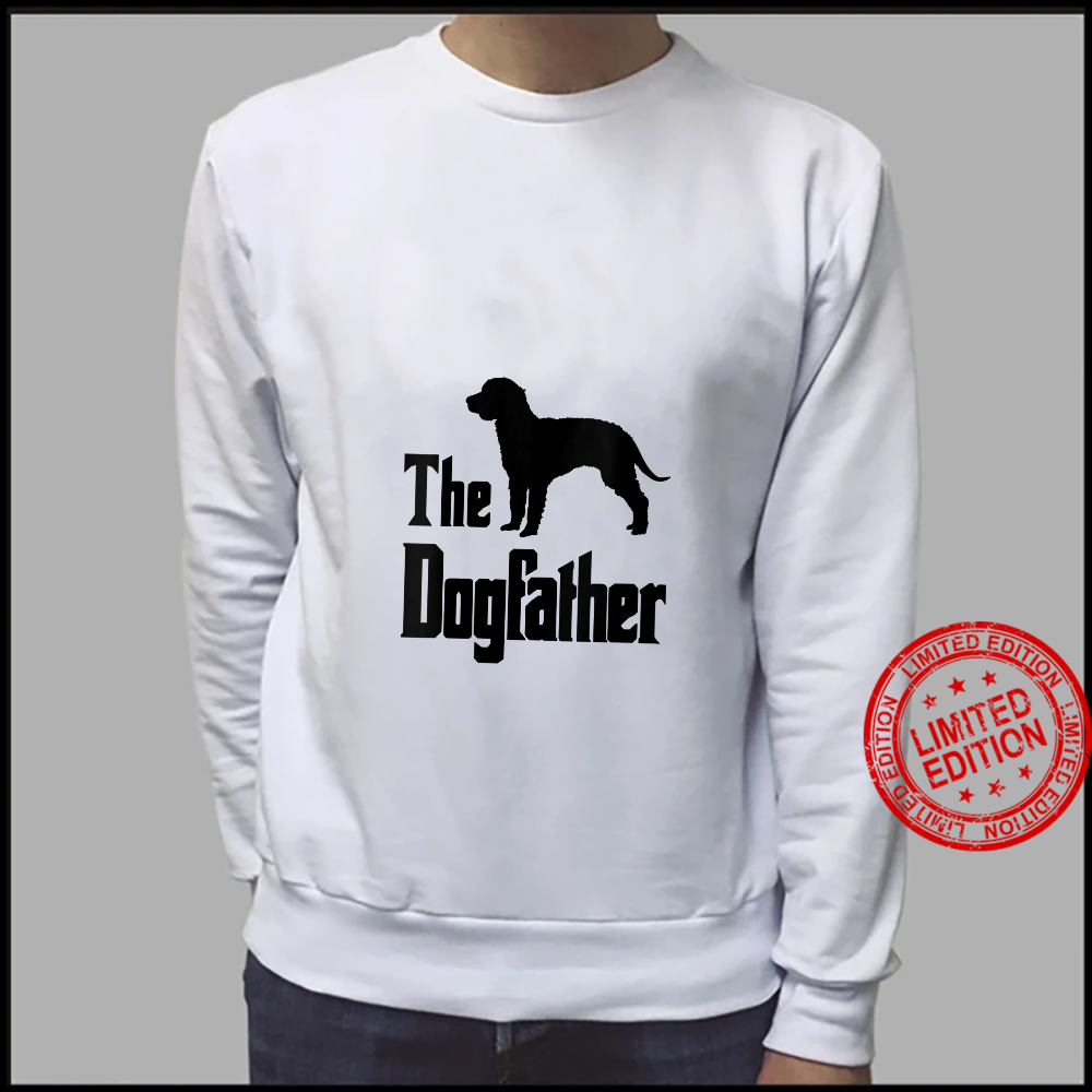 Womens The Dogfather funny dog, American Water Spaniel Shirt sweater