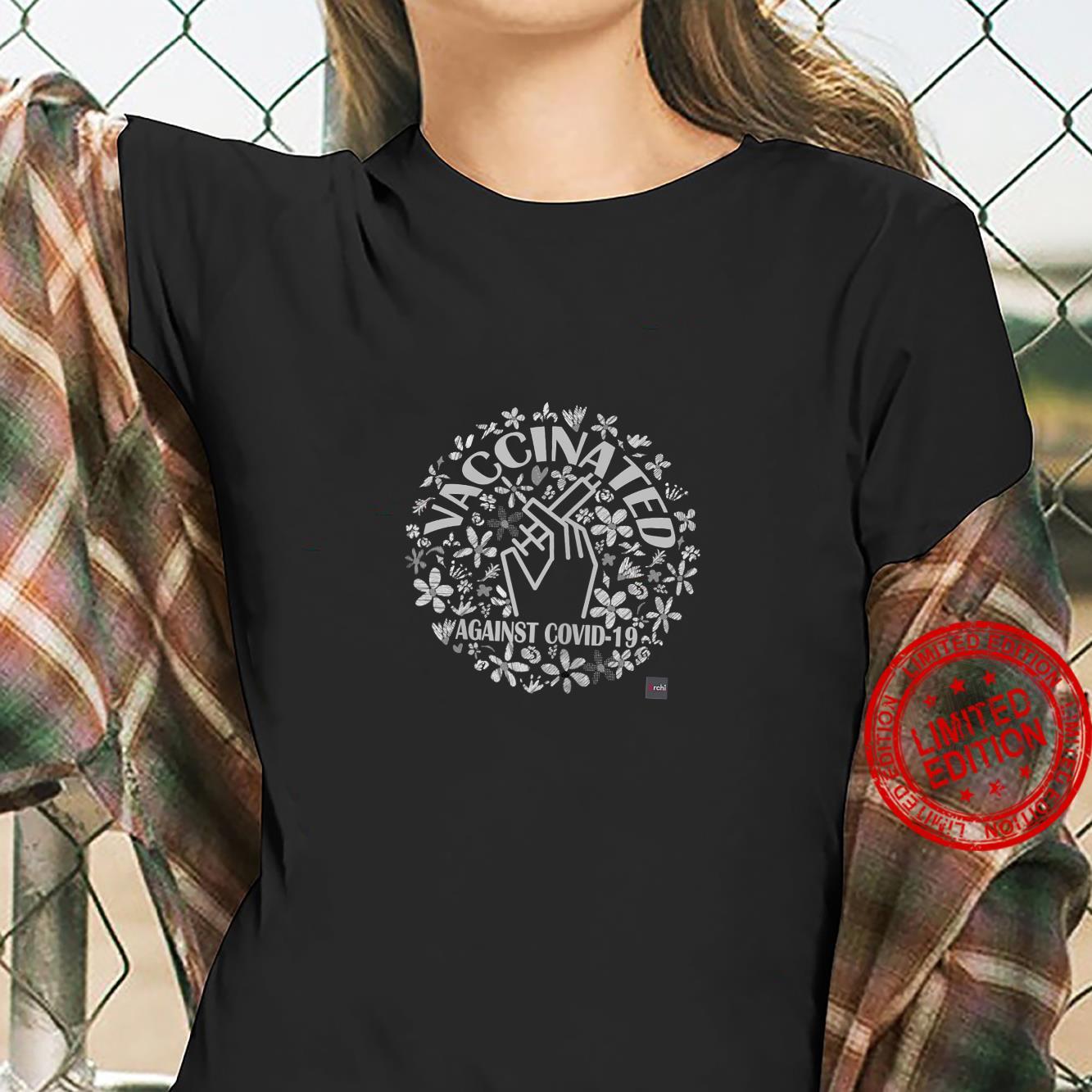 Womens Vaccinated's Shirt ladies tee