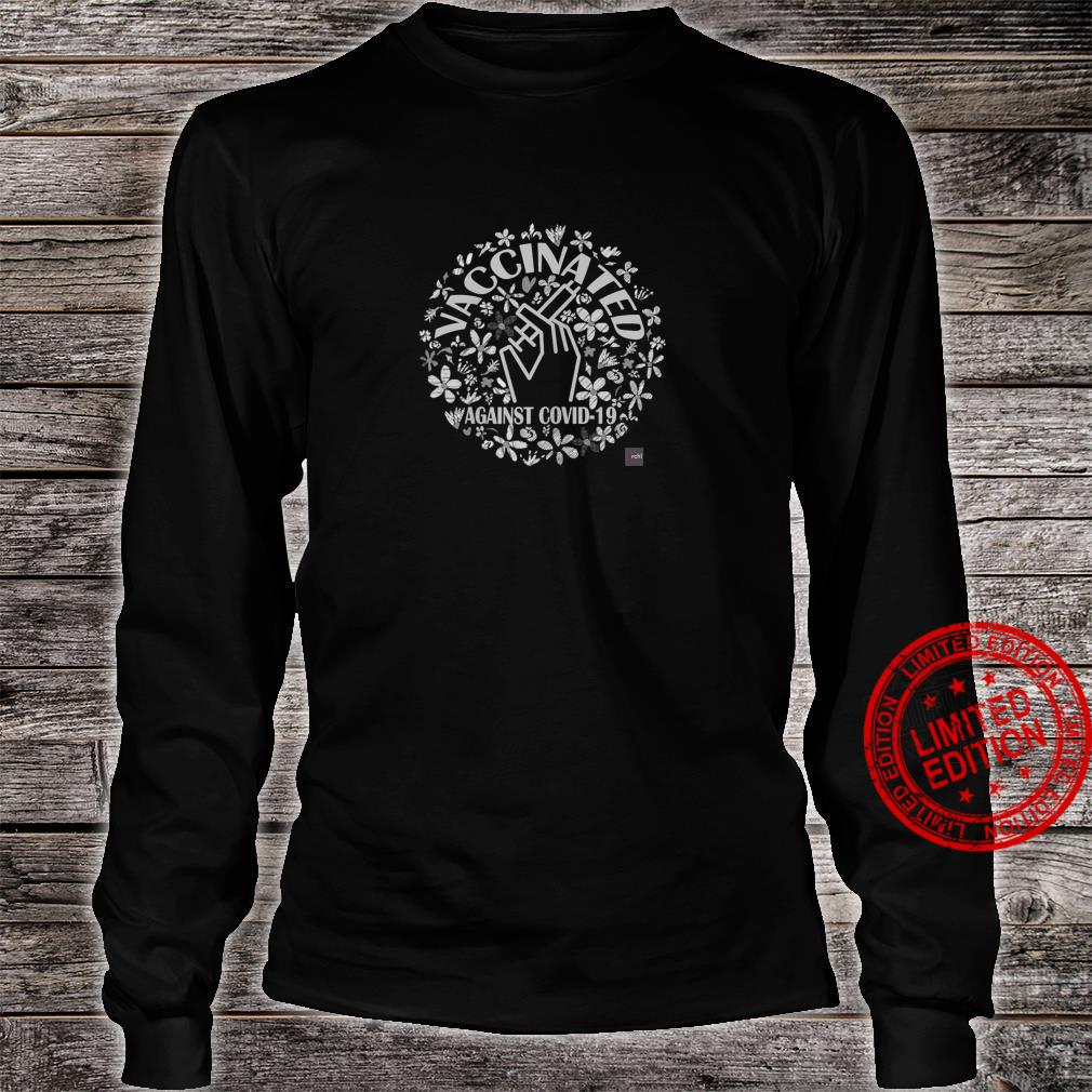 Womens Vaccinated's Shirt long sleeved