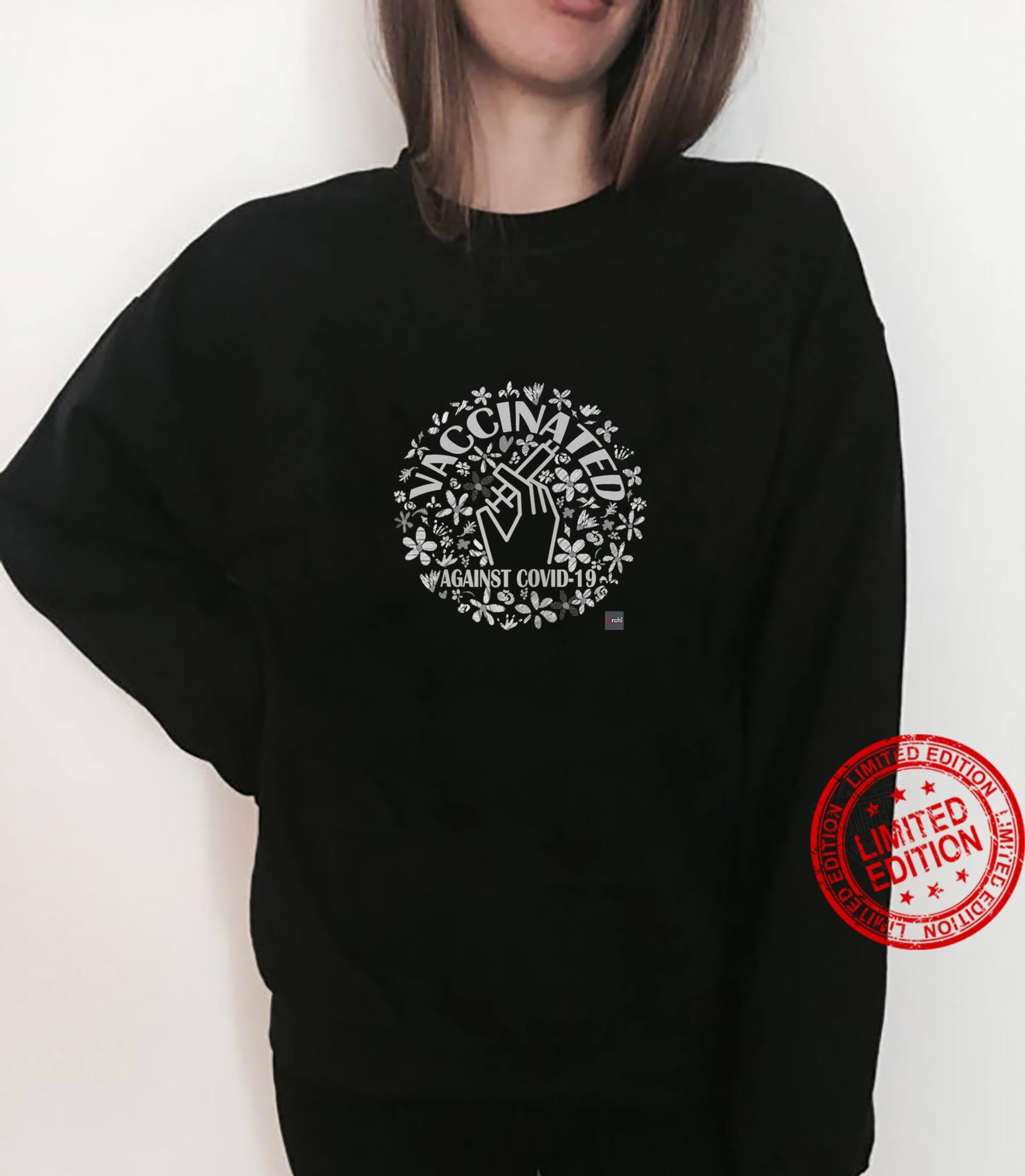 Womens Vaccinated's Shirt sweater