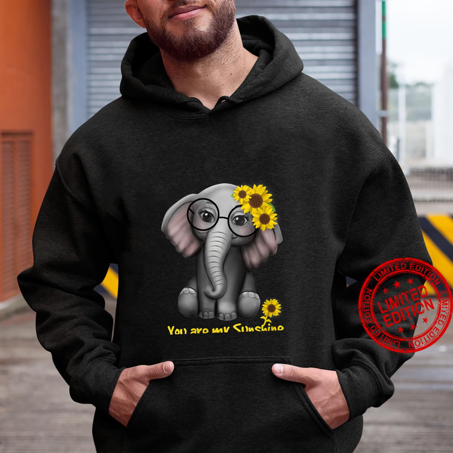 Womens You Are My Sunshine Elephants Sunflowers Clothes Elephant Shirt hoodie