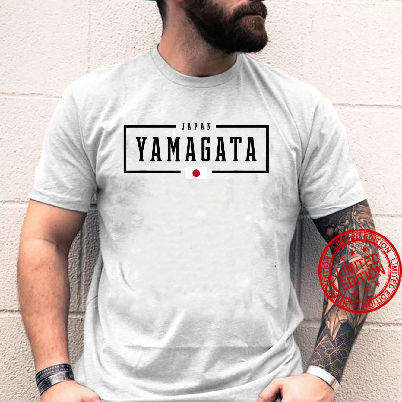 Yamagata City Japan Japanese Flag Shirt