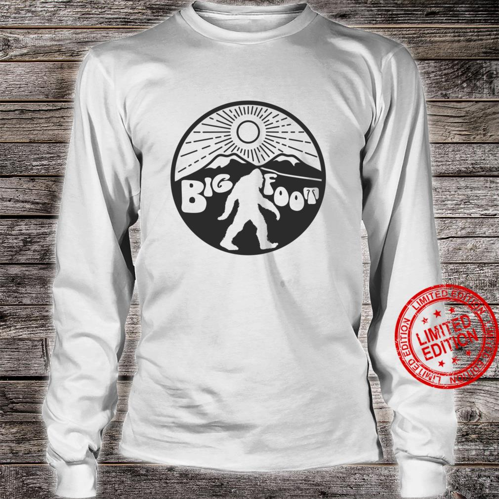 You Call Him Bigfoot 70s Style Mountain Mystery Cryptid Shirt long sleeved