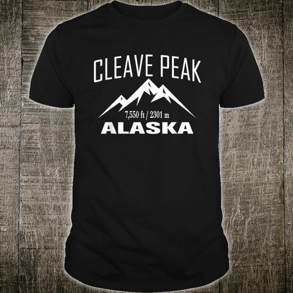 CLEAVE PEAK ALASKA Climbing Summit Club Outdoor Shirt