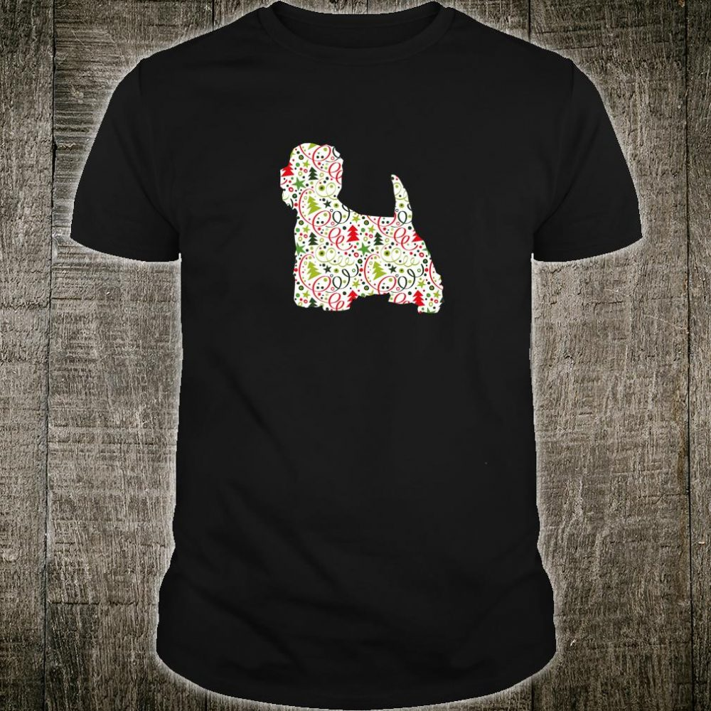 Christmas Westie West Highland Terrier Dog Wrapping Paper Shirt