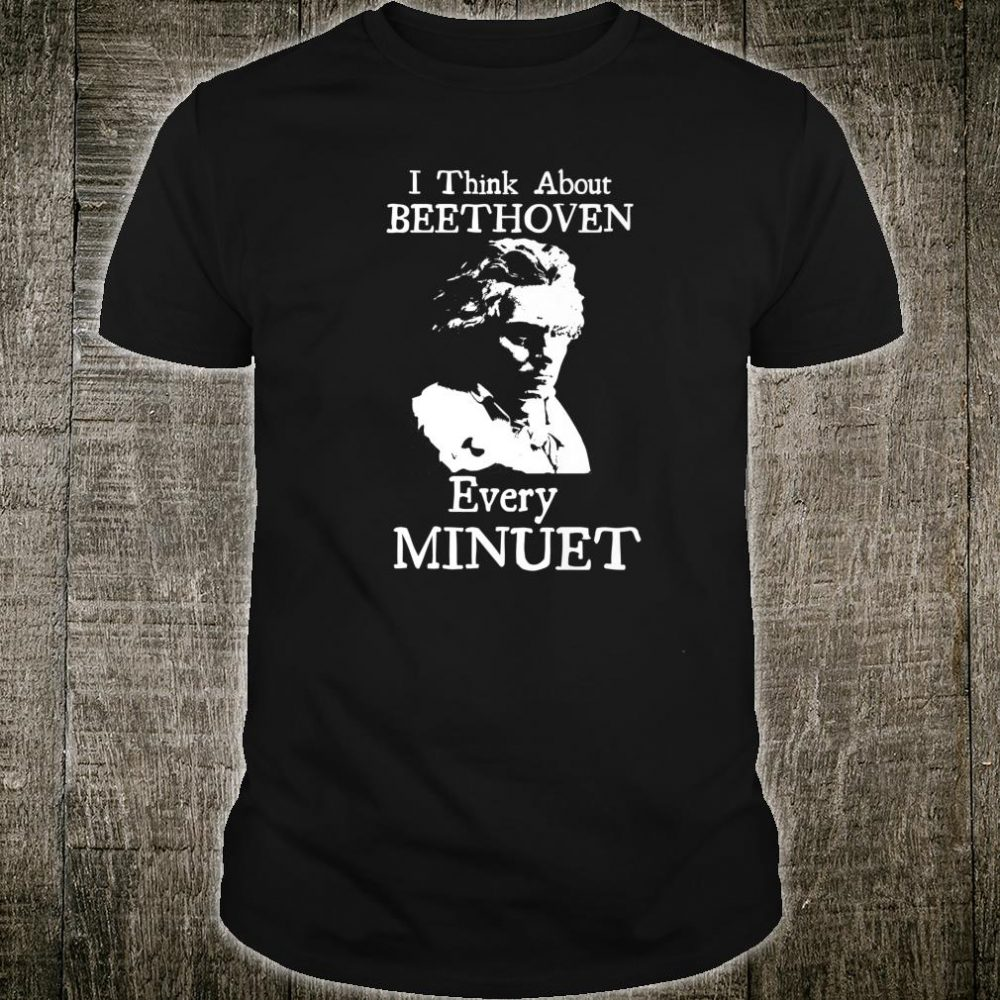 Classical Composers Beethoven Musician Music Shirt