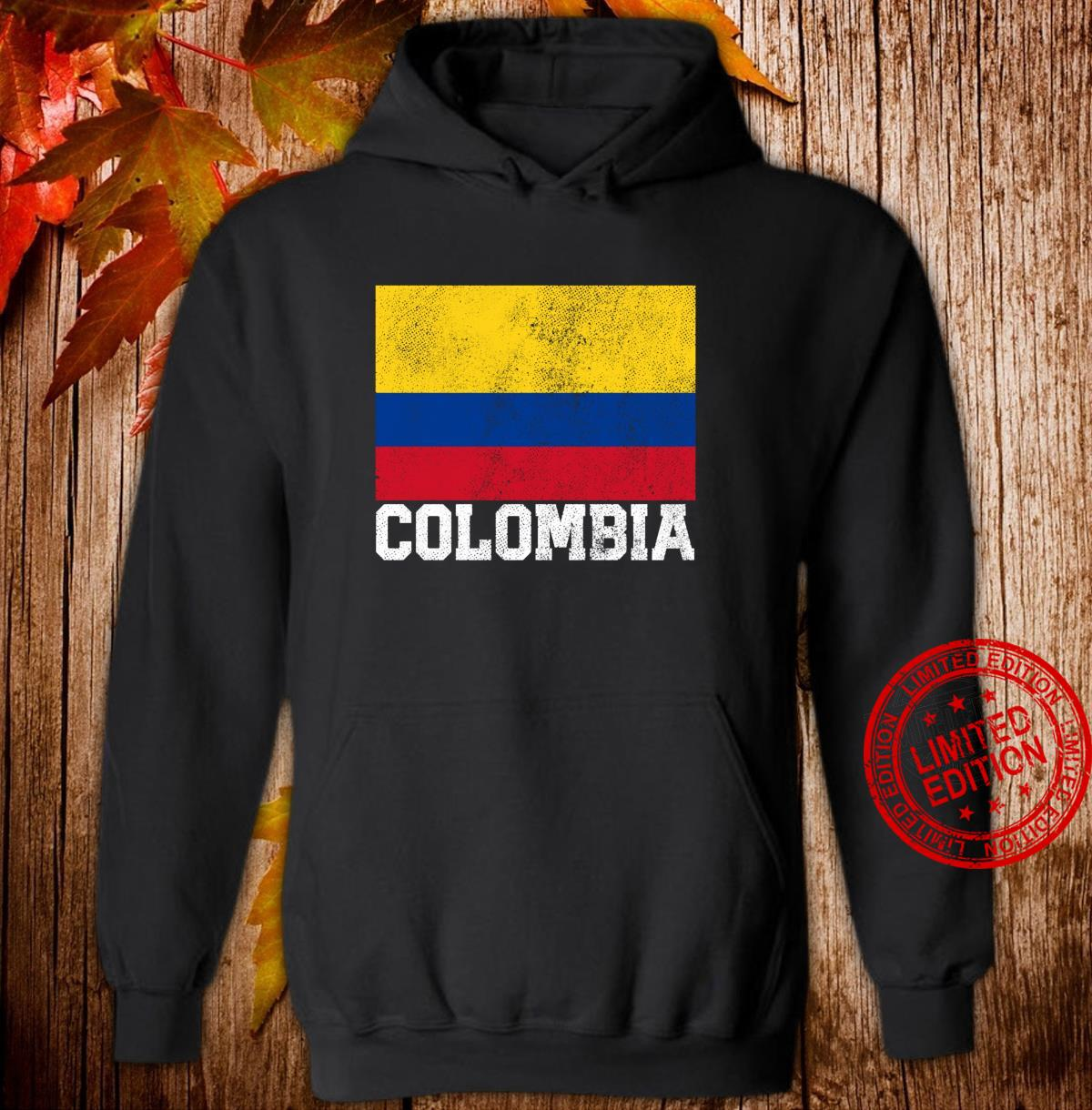 Colombian Colombia Flag Family Pride Country Shirt hoodie