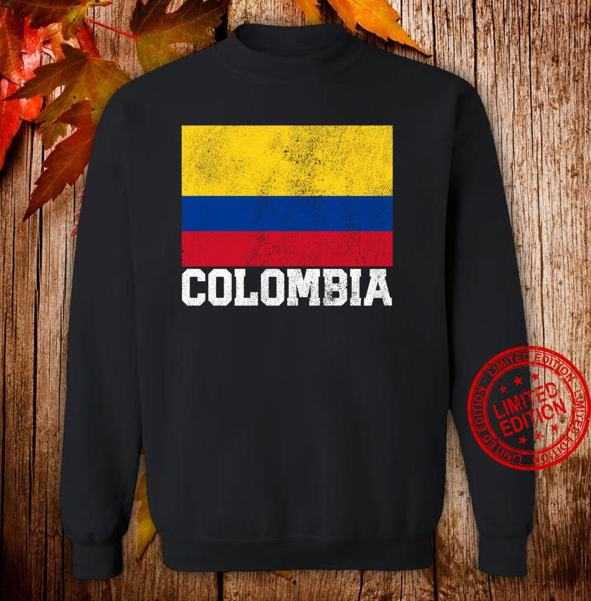 Colombian Colombia Flag Family Pride Country Shirt sweater