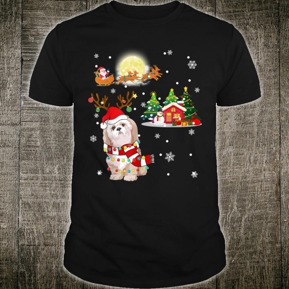 Cute Bolognese Comes To Town Christmas Shirt