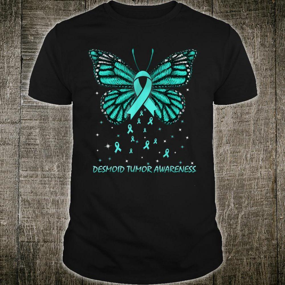 Desmoid Tumor Awareness Butterfly Shirt