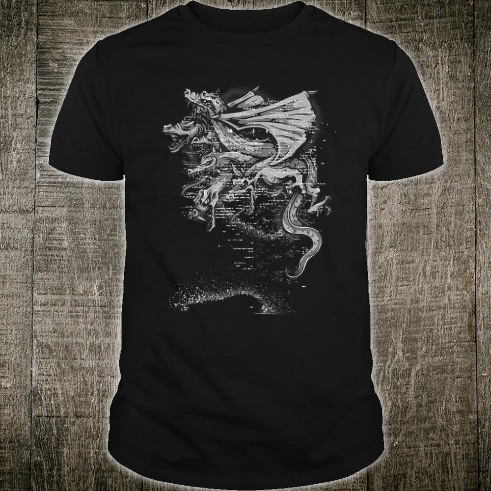 Goth Hydra Design Shirt