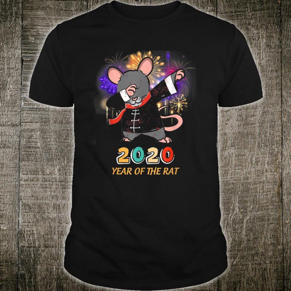 Happy Chinese New Year 2020 Dabbing Year Of The Rat Shirt