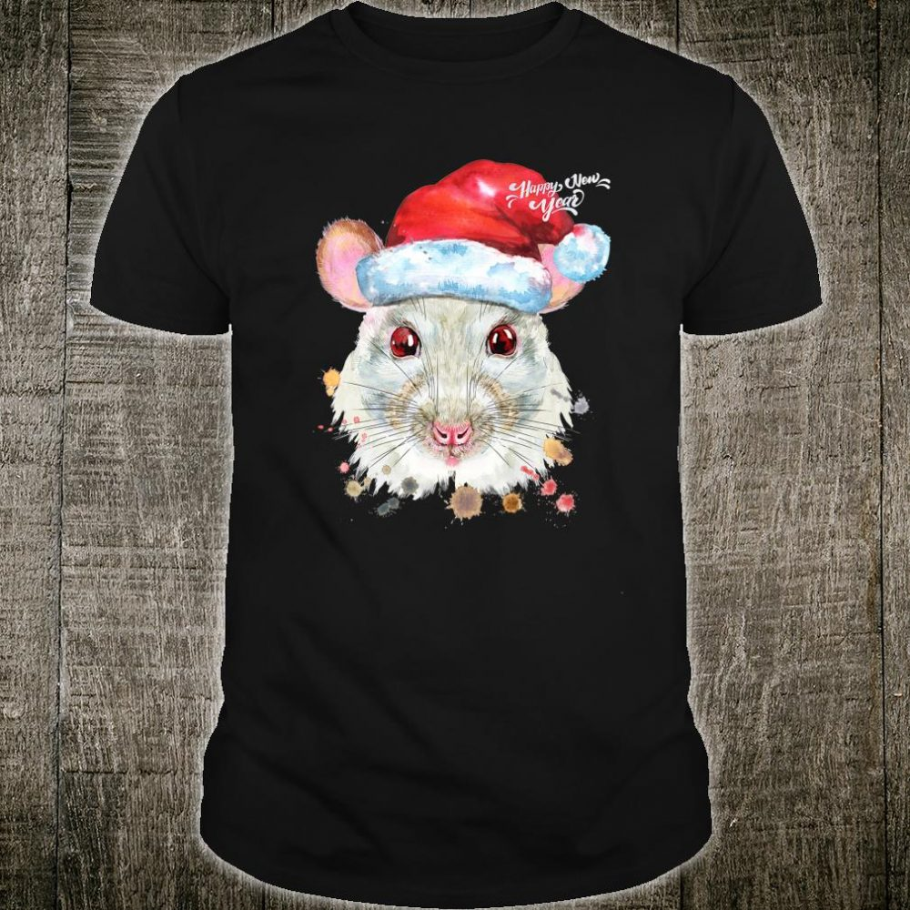 Happy New Year of The Rat 2020 Pajama Rat Shirt