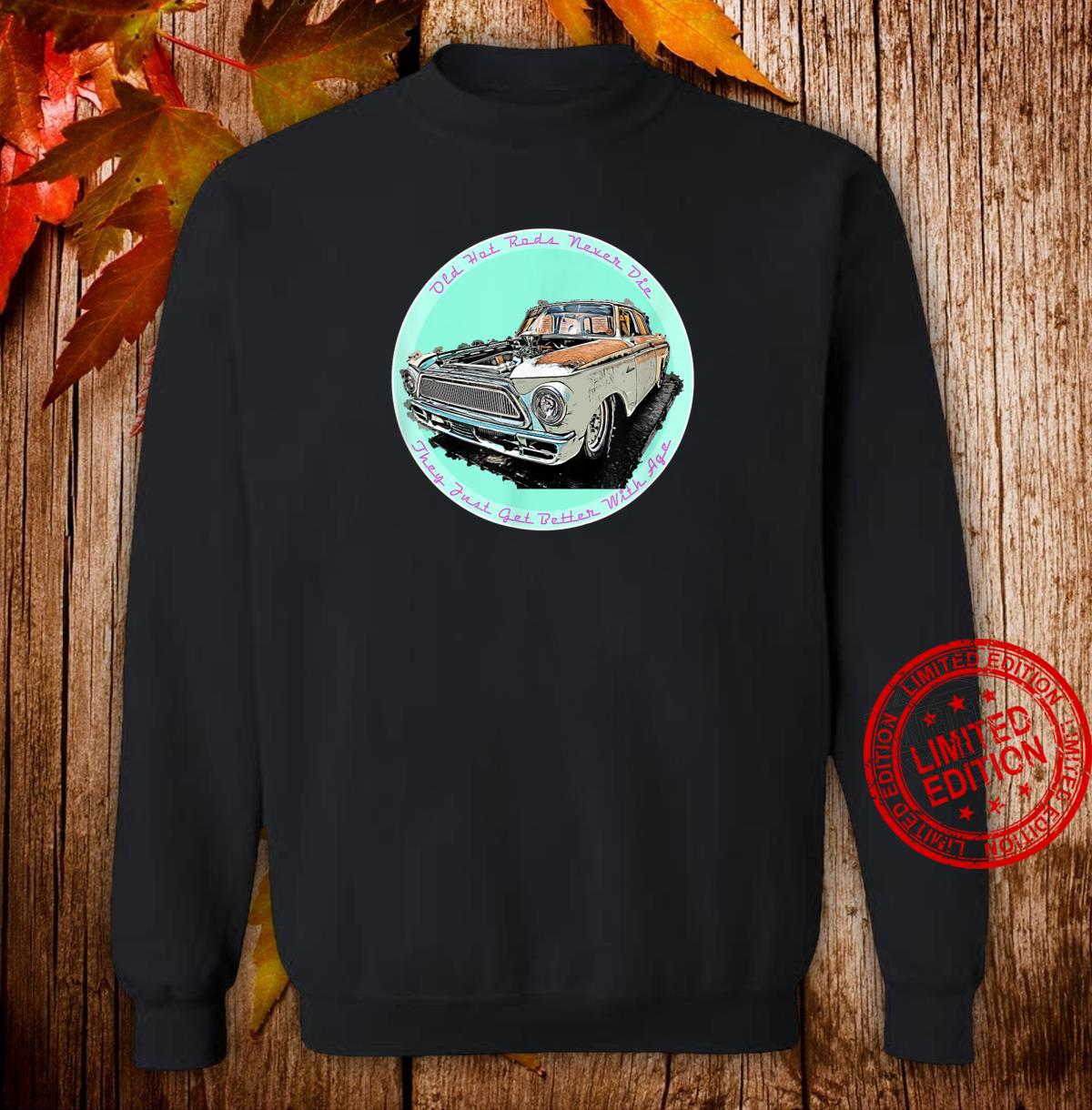 Hot Rods Classic American Vintage Drag Racing Car Shirt sweater
