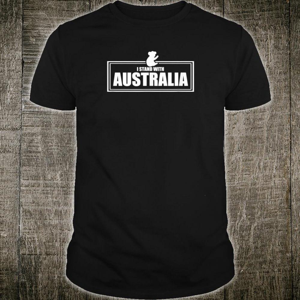 I Stand With Australia Shirt