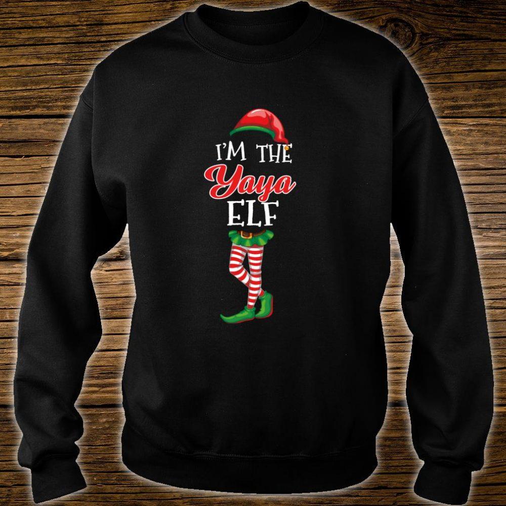 I'm The Yaya Elf Matching Family Christmas Group Shirt sweater