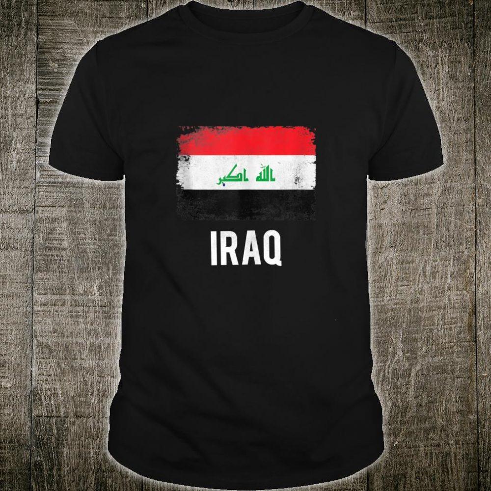 Iraq Flag Gift Iraqi Pride Vintage Souvenir Shirt
